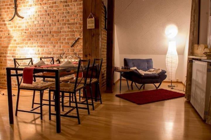 romantic flat - Schwandorf - Casa