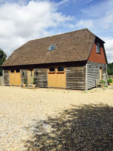 Oak House Barn near Chichester and Goodwood.