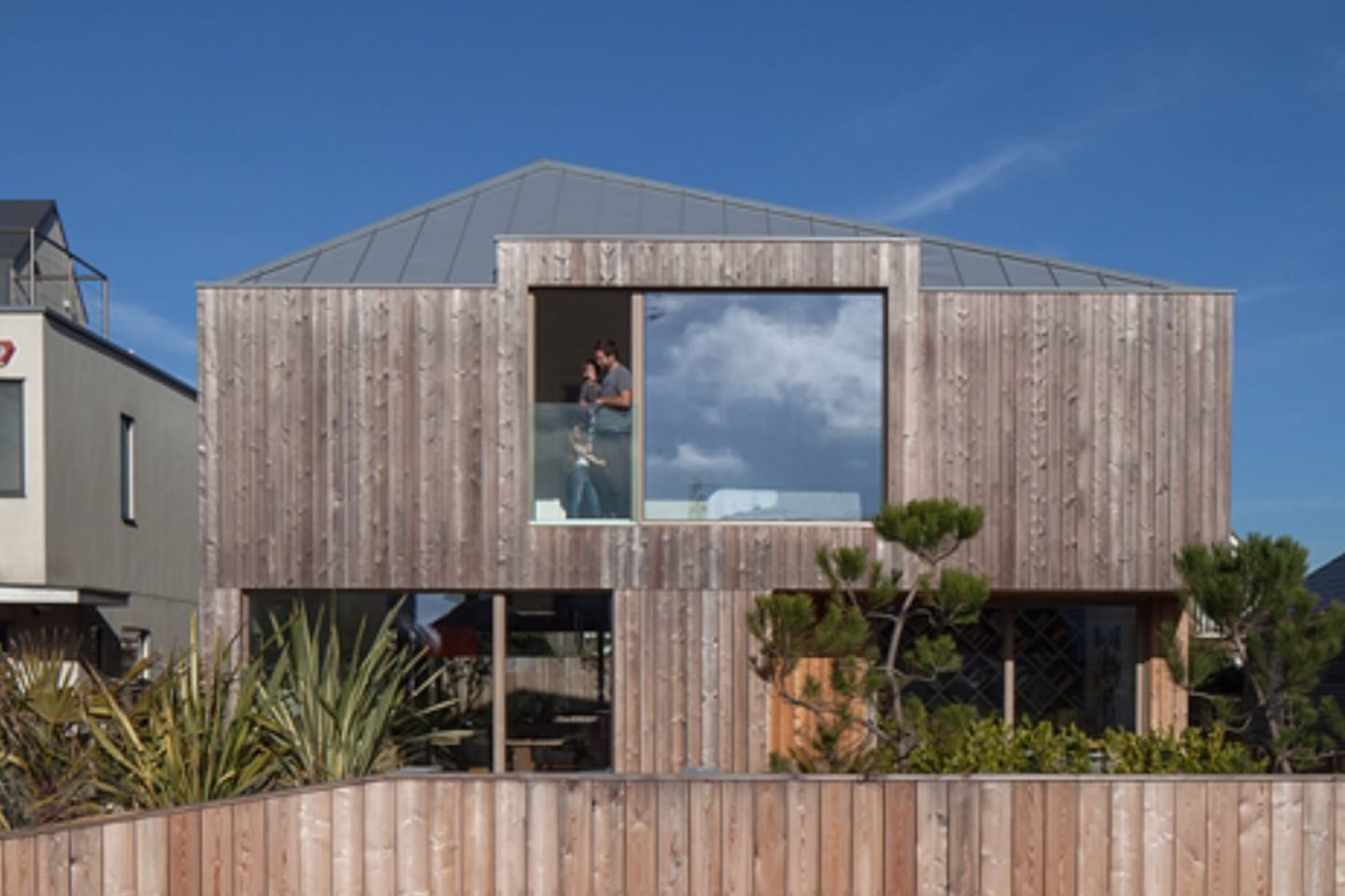 Our beautiful Scandi Eco Wooden Beach House.