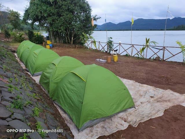 Pawna lake touch camping