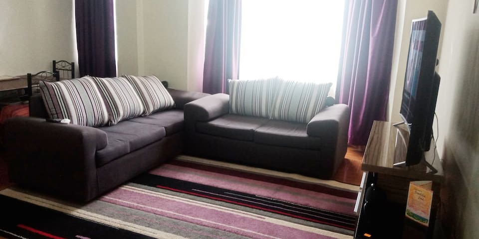 Fully furnished cosy one bedroom apartment-Ruaka
