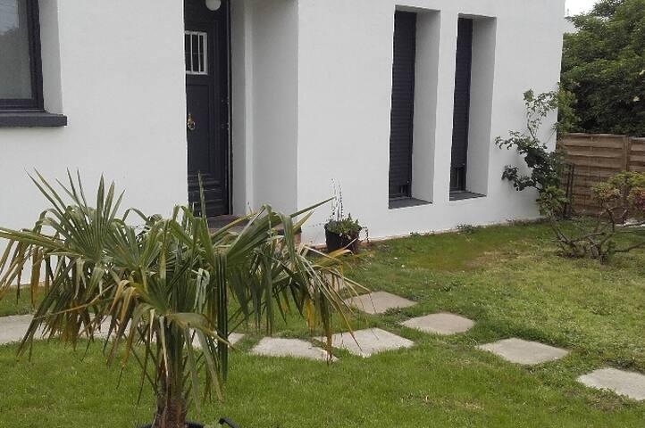 Maison moderne sur Roncq