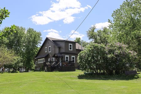 Farm Home on 12 Acres by Big Stone Lake.