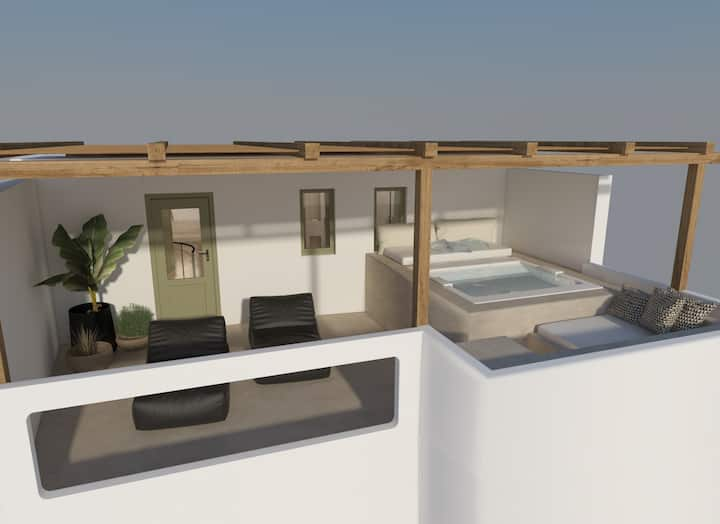 Canvas Suites   Aether Suite with Outdoor Jacuzzi