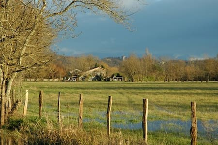 Maison en pierre,  bord de Garonne  - Cadaujac