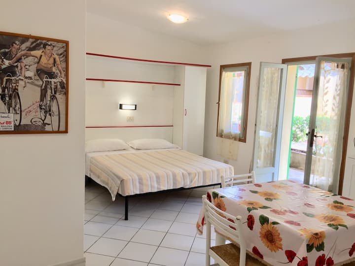 Studio apartment in Residence*** with pool