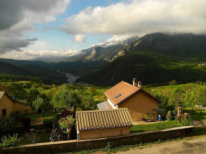 Gite au calme absolu dans les Hautes-Alpes