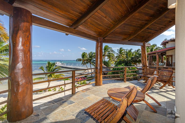 Limited Time, Pay for 6 Stay for 7! Spacious beachfront dream home.