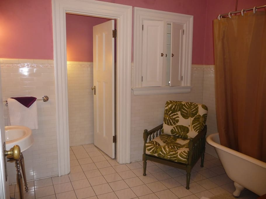 All of our rooms have a private/en-suite bathroom