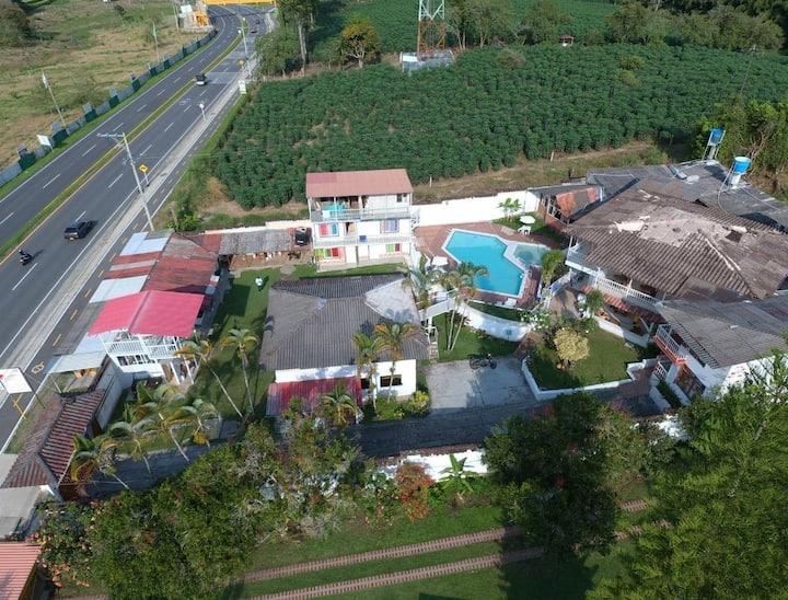 Ecohotel villa diana