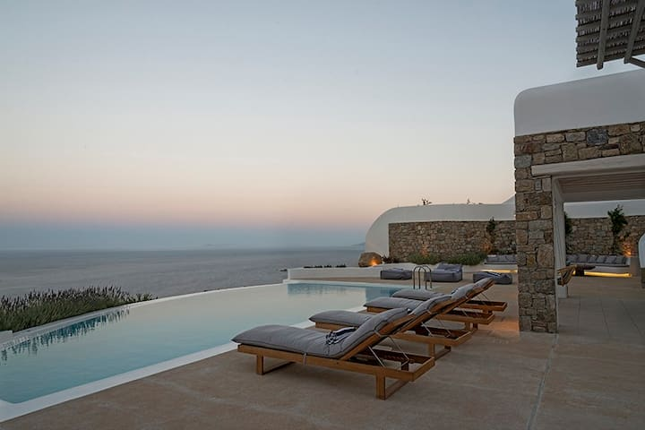 Stunning New Villa, INSANE Views - Míkonos - Villa
