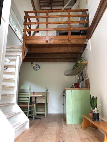 Tiny house met hottub (optie) bij de Gouden Ham