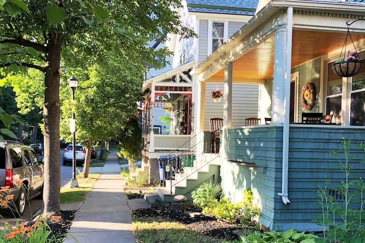 Beautiful Home Steps from Elmwood Village