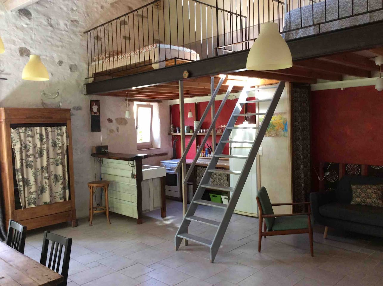 coin cuisine et mezzanine