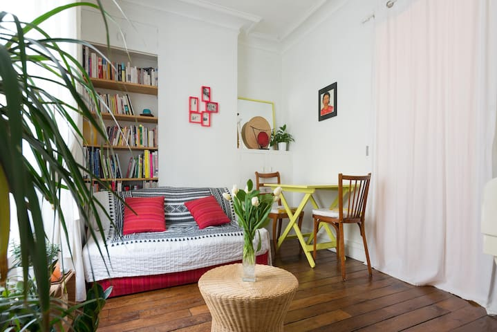 1 bedroom flat - cute and well located - París - Pis