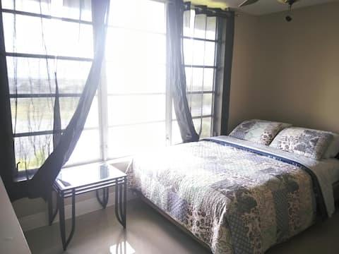 Família Bezerra aluga quarto grande e aconchegante