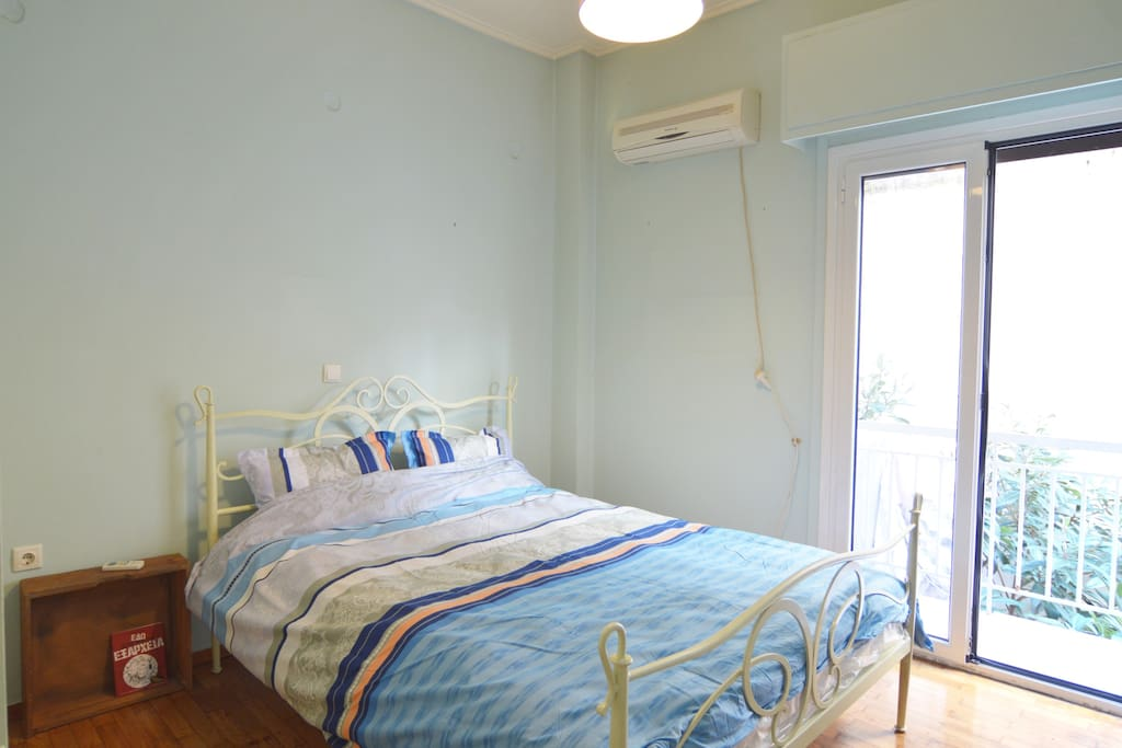 bedroom, double bed for 2 persons (150*200cm)