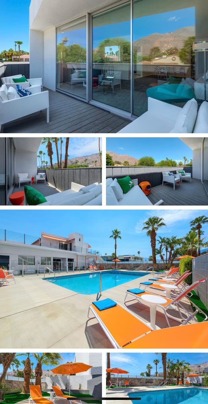 MODERN 1BD 1BR WITH BALCONY AND POOL.