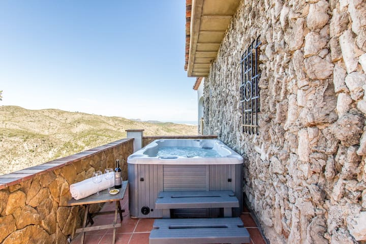 Suite Sunset ♡ Casa Tarsan Eco Lodge ♡ Jacuzzi