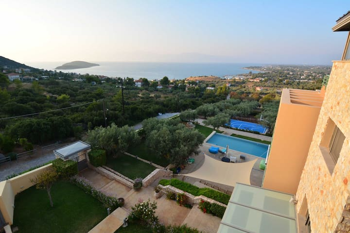 The Med Apartment with stunning views (2nd Floor) - Drosia - Apartamento