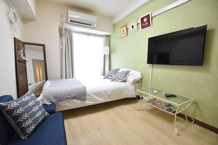 Cozy APT|5 min Asakusa Sta|Near SKYTREE|MAX3|WiFi - Taitō-ku