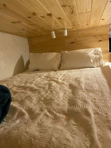 Comfortable loft-bed