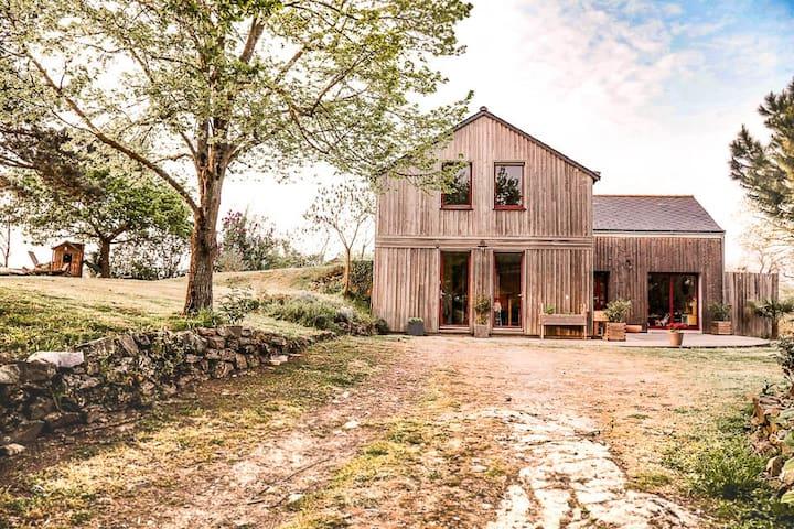 Maison au coeur des vignes et proche de la Loire