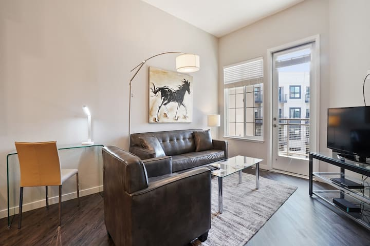 Downtown Campbell-great 1br apt