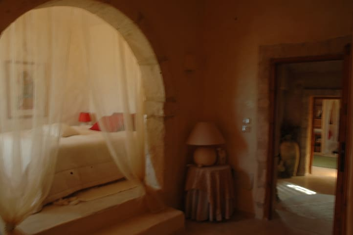 Chambre Sidi Salem avec grande terrasse vue mer