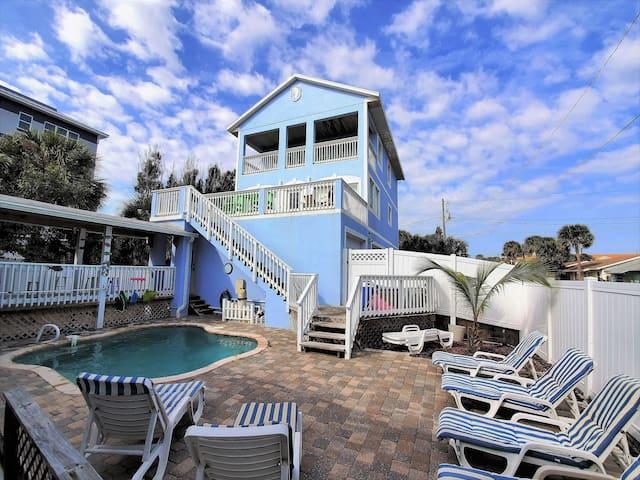 House & Pool Courtyard