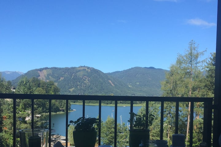 Wonderful apartment at the Ossiacher lake