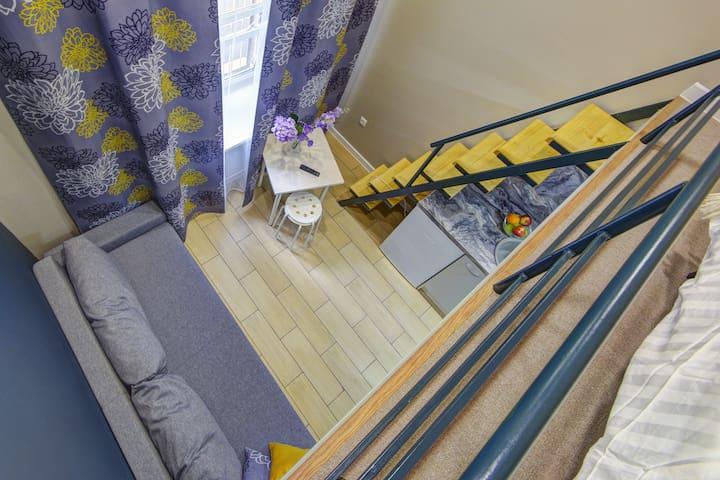 1 Апартамент URoom на Первомайской