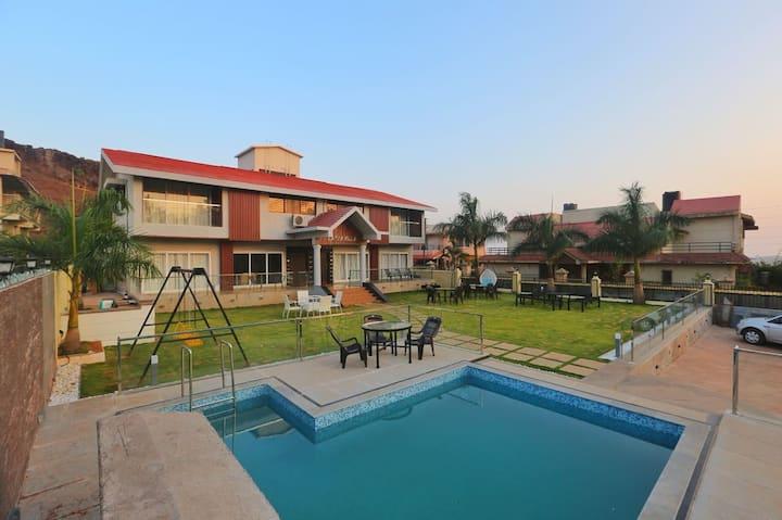 2 Units Lakha Villa Panchgani 3BHK