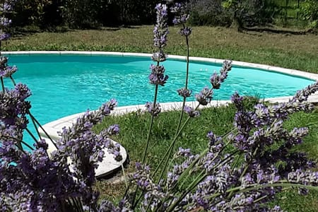 Maison avec piscine  - House with swimming pool - Sainte-Terre
