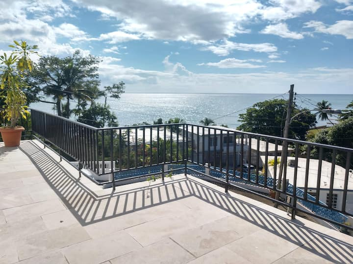 2bd Apt with deck and ocean views