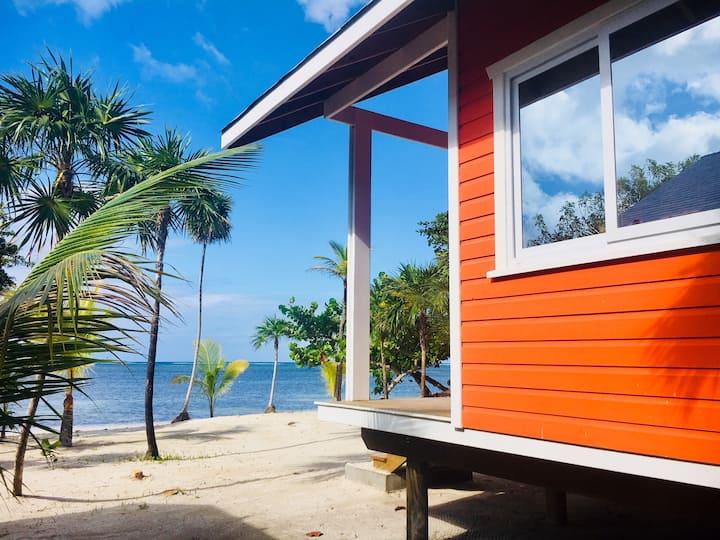 The Paddy Rican Beach Cabins, Roatan Honduras #4