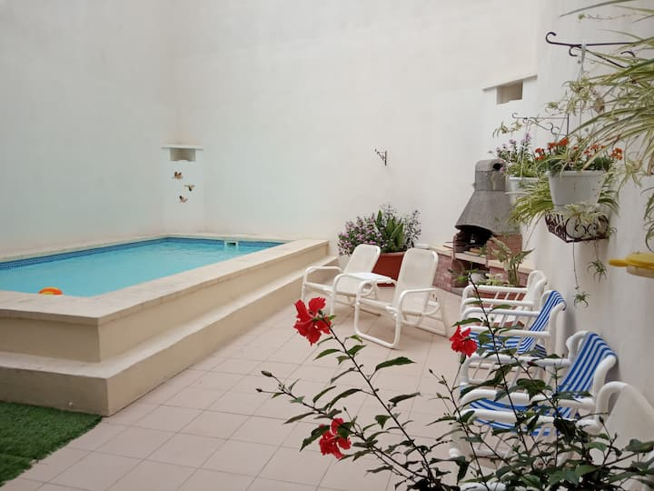 The Valley Maisonette with private pool in M'scala