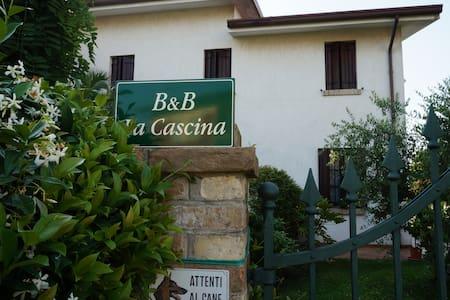 stanza in villa immersa nel verde/camera azzurra - Concordia Sagittaria - Pousada