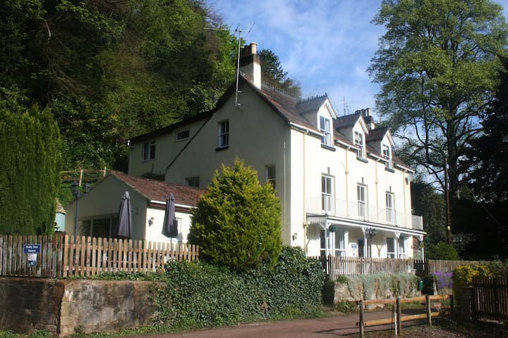 Hollytree House at Symonds Yat on the River Wye