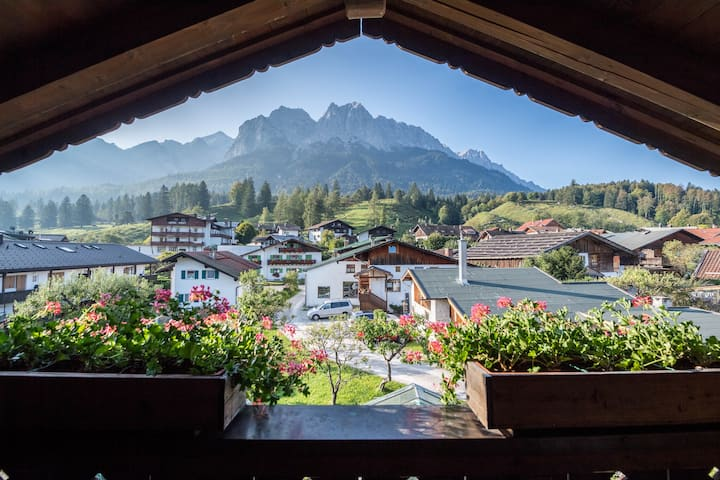 Holiday Apartment Gipfelblick with Mountain View, Balcony & Wi-Fi; Parking Available