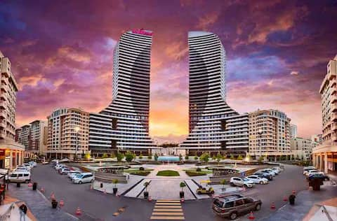 Luxurious House in 25. Floor of Sinpas Twin Tower