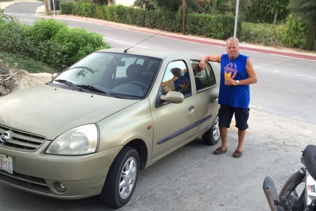 Your free car to use, explore LosCabos, visit Hotel California in Toddo Santos, or shopping in LaPaz !