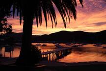 Catch a Sunset in Waikawa Bay (3 min drive away)