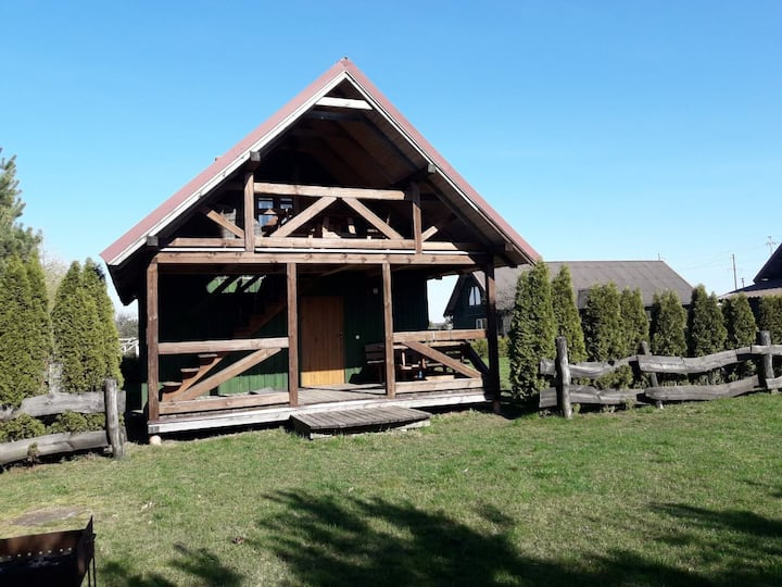 Farmhouse in Grabupiai