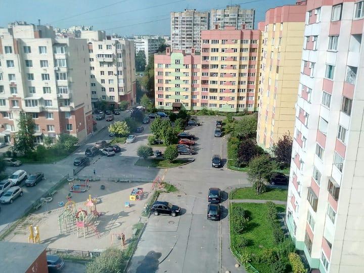 Уютная квартира в тихом районе г. Санкт-Петербурга