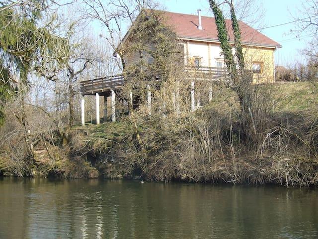 Au Chalet du Pêcheur - Sirod - Dağ Evi