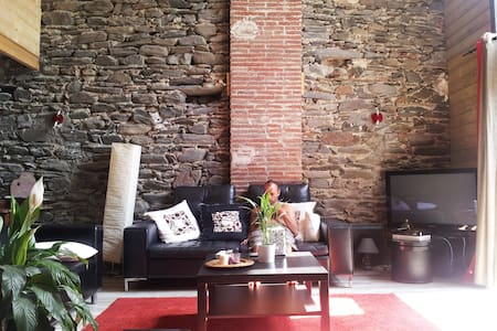 Loft en pierre catalane - Rigarda - 独立屋