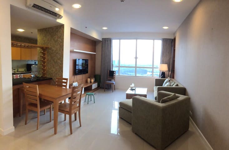 2 brs Sunrise City South Apart for Lease - Ho Chi Minh - อพาร์ทเมนท์
