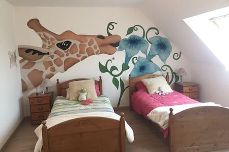 The giraffe room - Beuvrequen