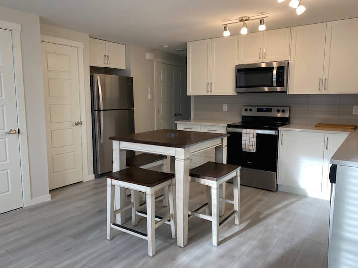 Cozy & Clean: Private Condo in South Calgary